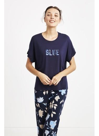 Catherines Pijama Takım Lacivert